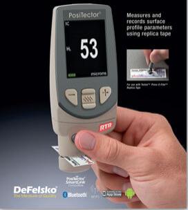 PosiTector RTR – Replica Tape Reader